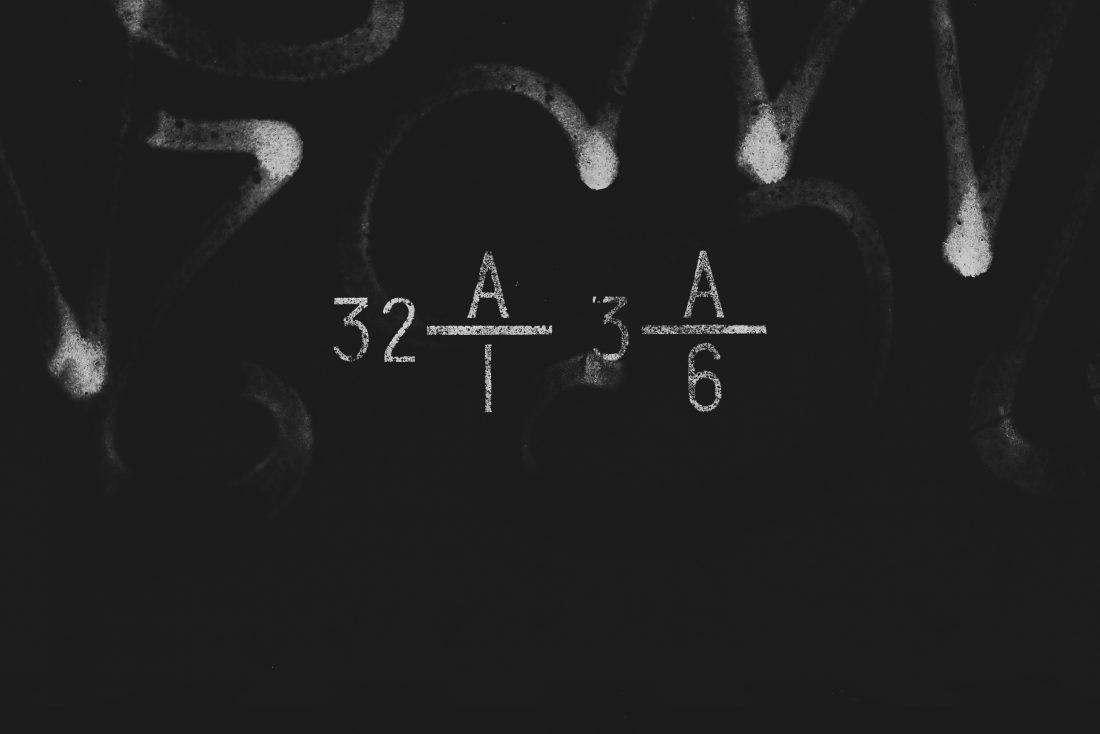 Know your math - Kunstfoto